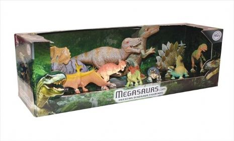 Megasaurs Dinosaurs Set of 11 Jurassic Beasts Kids Gift